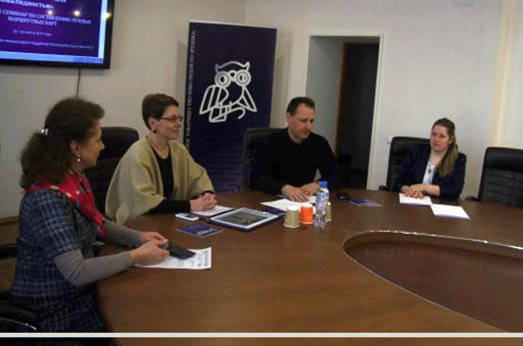 В Минске состоялся обучающий семинар по составлению речевых маршрутных карт