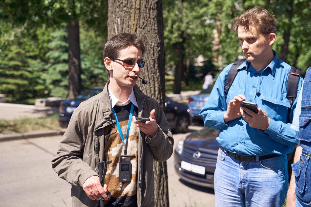 30 мая 2019 года состоялась презентация первого пешеходного маршрута для незрячих в городе Минске. Фото - www.potashnikov.com